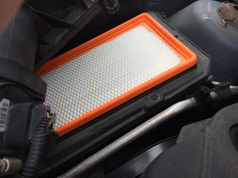New air filter installed