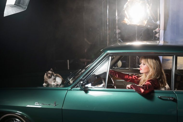 Opel calendar 2017, Opel Wonderland of Dreams, stars Grumpy Cat and Georgia May Jagger