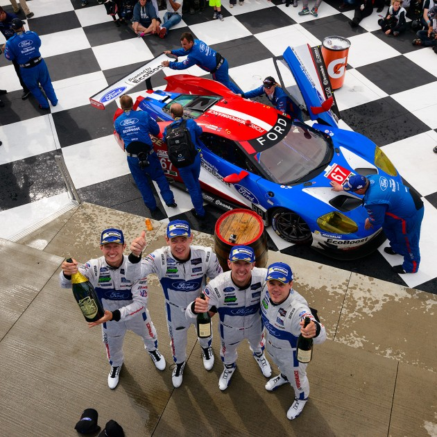 Ford GT podium finish Sahlen's Six Hours of The Glen