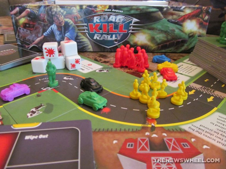 Road Kill Rally Z-Man Games Racing Board Game Review box