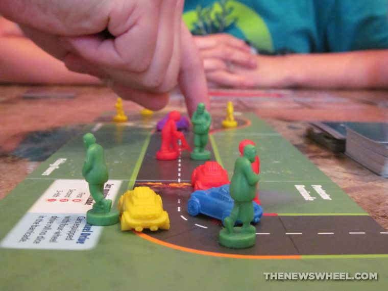 Road Kill Rally Z-Man Games Racing Board Game Review playing