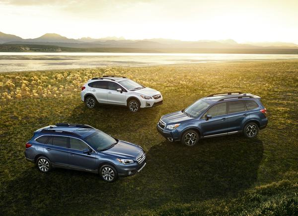 subaru crosstrek, subaru outback, subaru forester, subaru crossover suvs, autopacific ideal vehicle awards