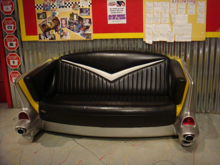 Car Seat Couch Refurbished