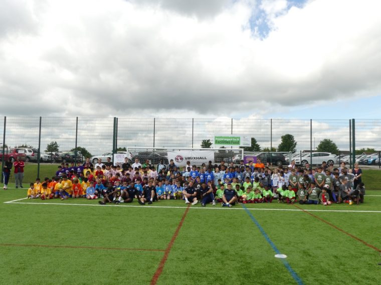 Football tournament Luton Vauxhall