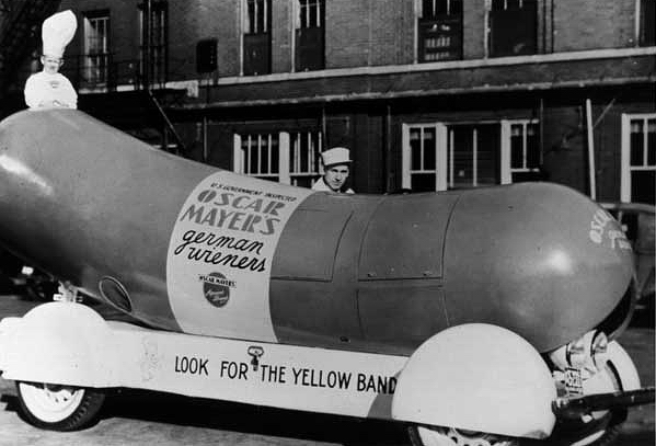 original 1936 Oscar Mayer Wienermobile