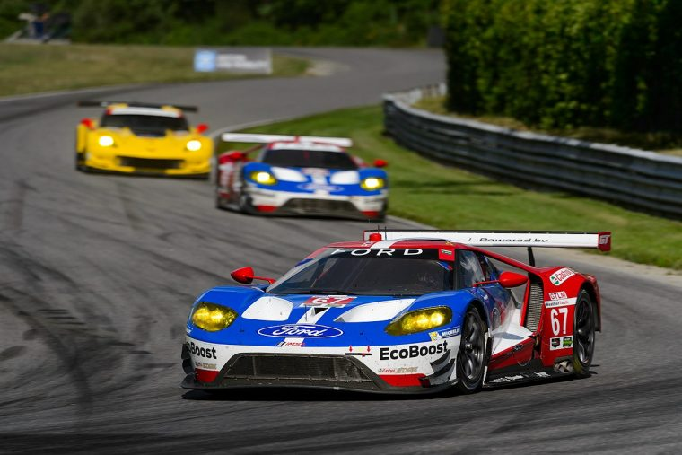 No. 67 Ford GT at Northeast Grand Prix