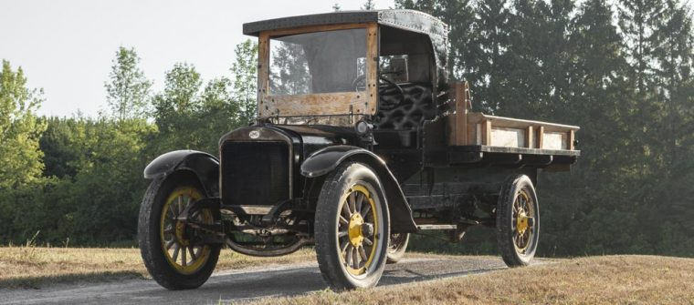 1916 GMC Truck Path to Precision cross-country drive