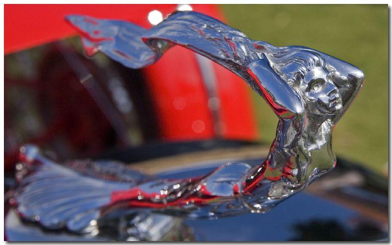 1930 Cadillac Phaeton hood ornament at 2006 Boca Raton Concours d' Elegance