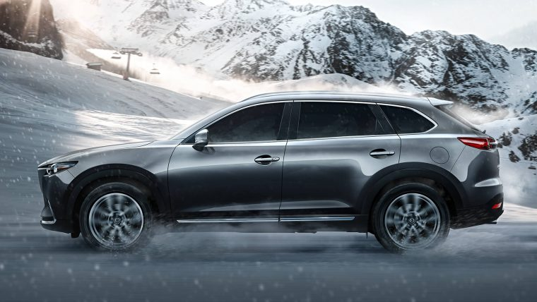 2016 CX-9 Exterior in the snow
