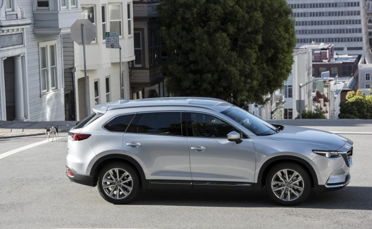 2016 CX-9 Outside