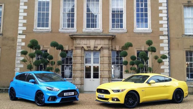 2016 Ford Focus RS and Mustang GT