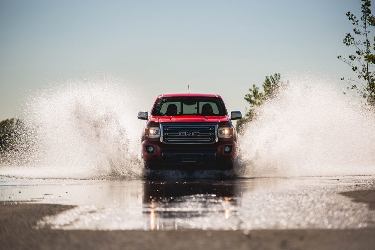 The 2016 GMC Canyon Diesel took home top honors in the 2016 Midsize Pickup Truck Challenge