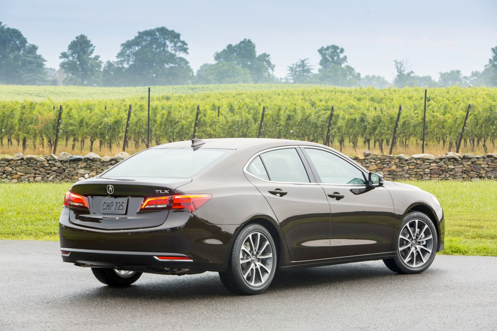 2017 acura tlx overview the news wheel. Black Bedroom Furniture Sets. Home Design Ideas