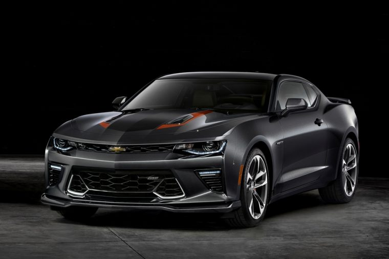 Chevrolet will be selling a left-hand drive version of the turbo-powered Camaro for approximately $41,100 in the UK