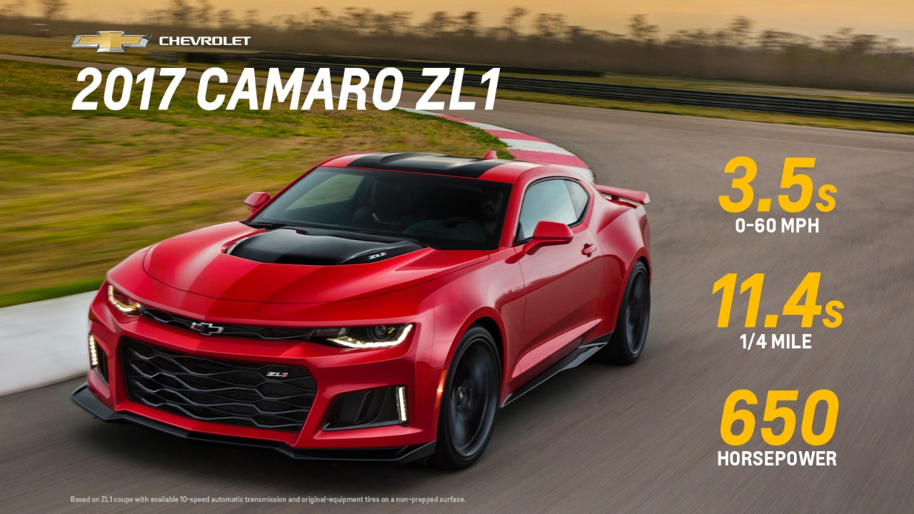 chevy announces 2017 camaro zl1 and 1le pricing the news wheel. Black Bedroom Furniture Sets. Home Design Ideas