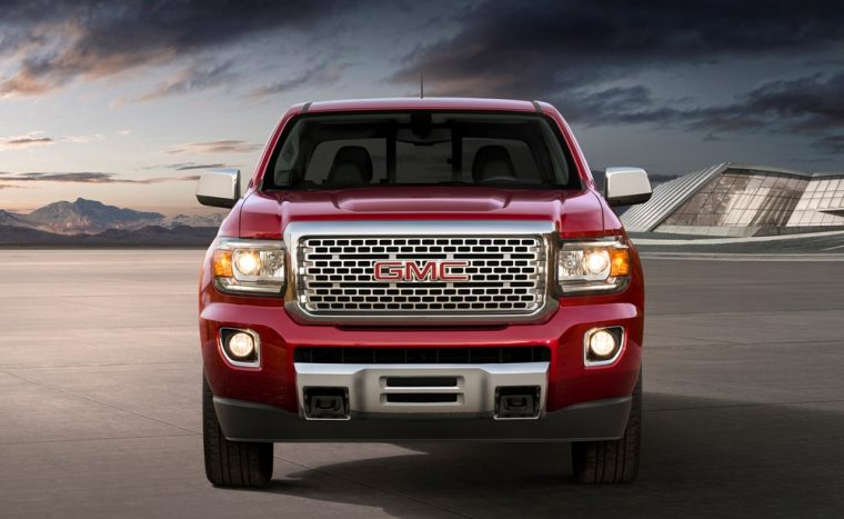 The 2017 GMC Canyon pickup will be available with new exterior color options, a new engine, and new transmission, along with many other updates