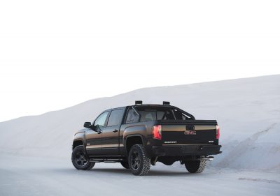 Tests performed by Car and Driver showed the Sierra 1500 All Terrain X was more fuel efficient that the Ford-150
