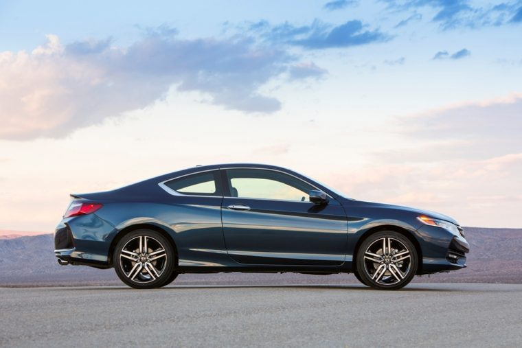 The 2017 Honda Accord Coupe offers the choice between a four-cylinder ...