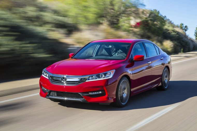 The 2017 Honda Accord sedan is largely unchanged from the previous model year and carries a starting MSRP of $22,355