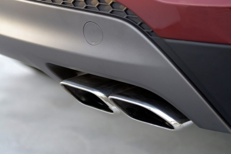 2017 Hyundai Tucson Overview exhaust tailpipe