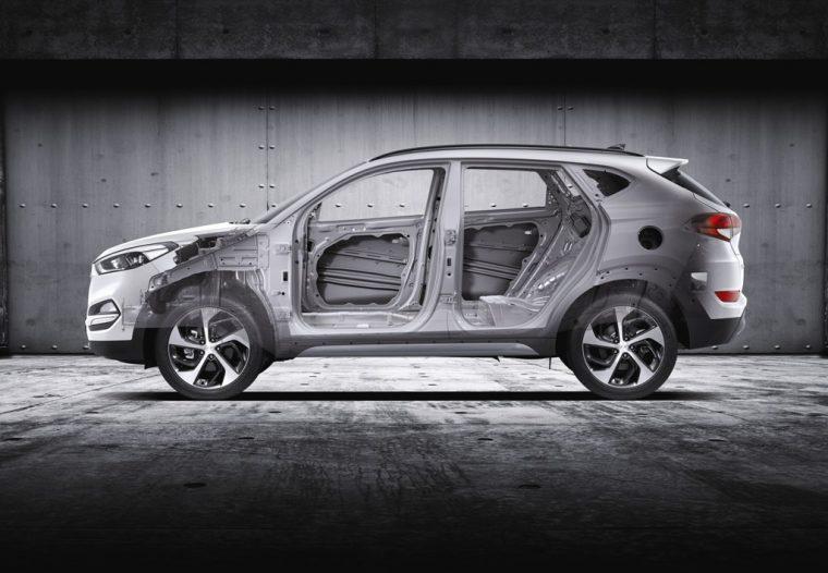 2017 Hyundai Tucson Overview frame