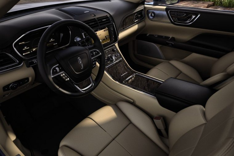 The Lincoln Continental offers plenty of tech for only around $45,000