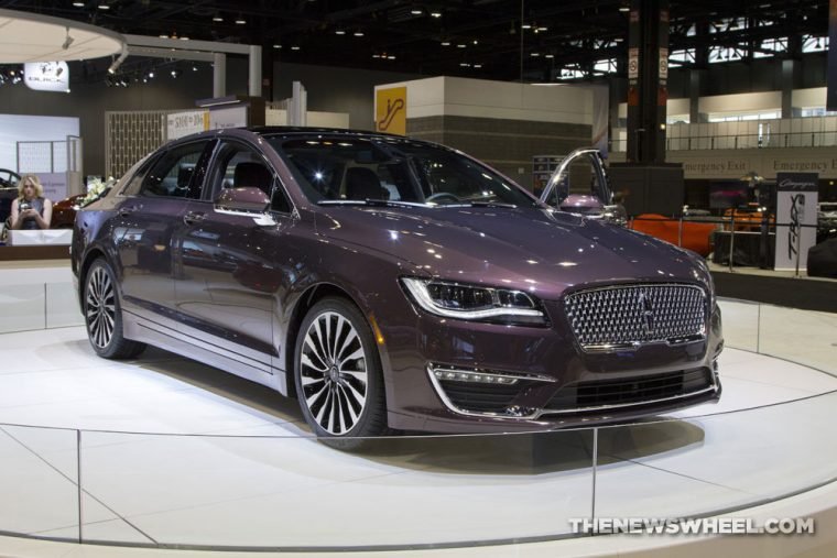The IIHS just named the 2017 Lincoln MKZ a Top Safety Pick+