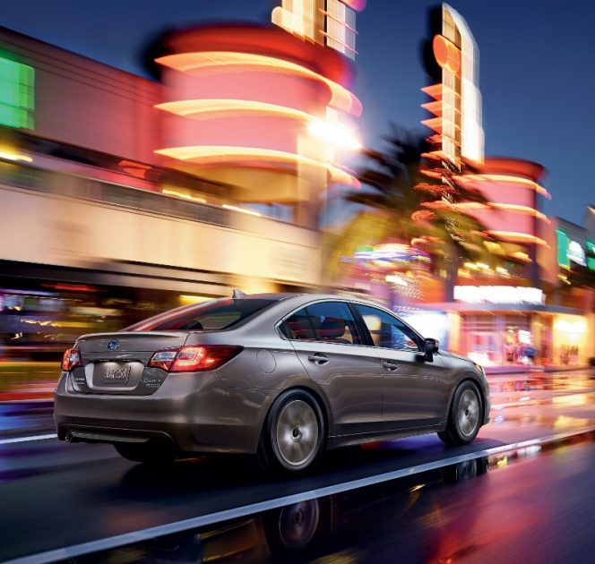 The new 2017 Subaru Legacy sedan comes standard with all-wheel drive and carries a starting MSRP of $21,995