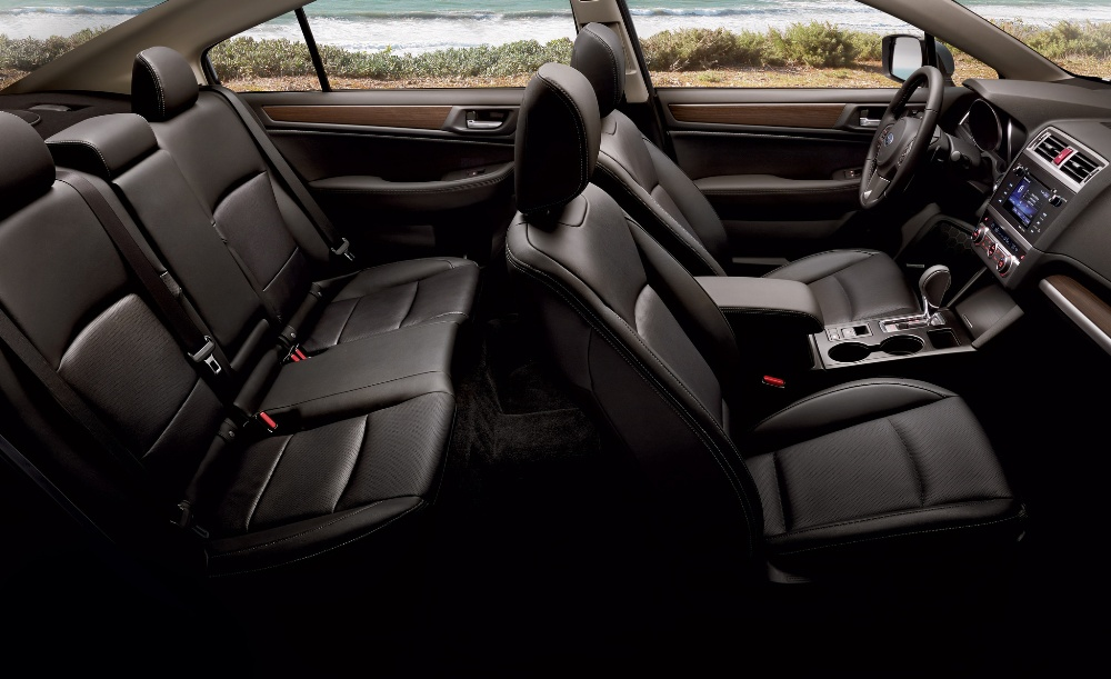 2017 Subaru Legacy interior seating | The News Wheel