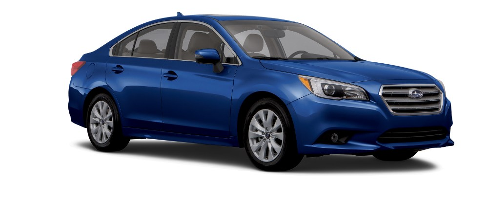 2017 Subaru Legacy with blue exterior color option | The News Wheel