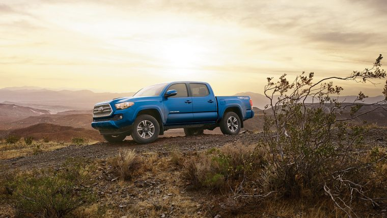 2017 toyota tacoma overview the news wheel. Black Bedroom Furniture Sets. Home Design Ideas