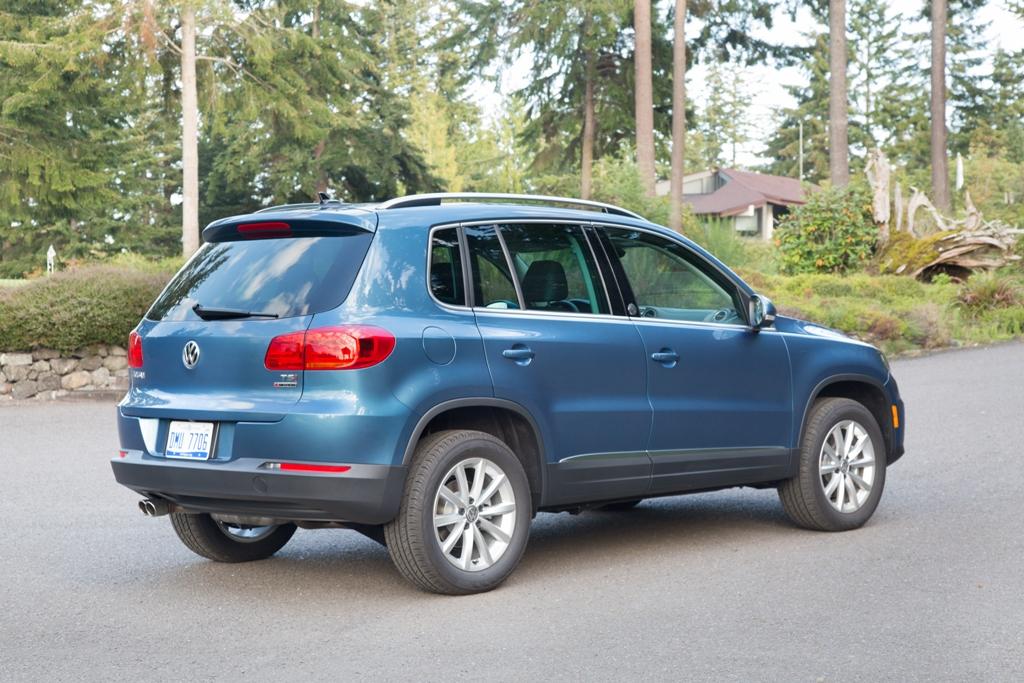 2017 Volkswagen Tiguan Vehicle Model Overview Rear