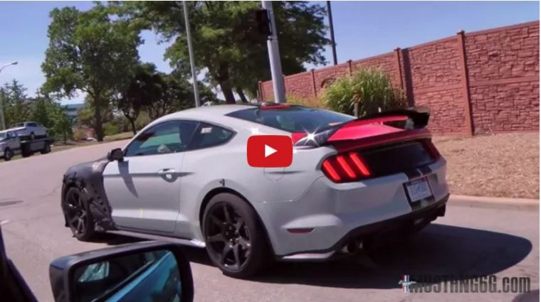 2018 Shelby GT500 Video YouTube