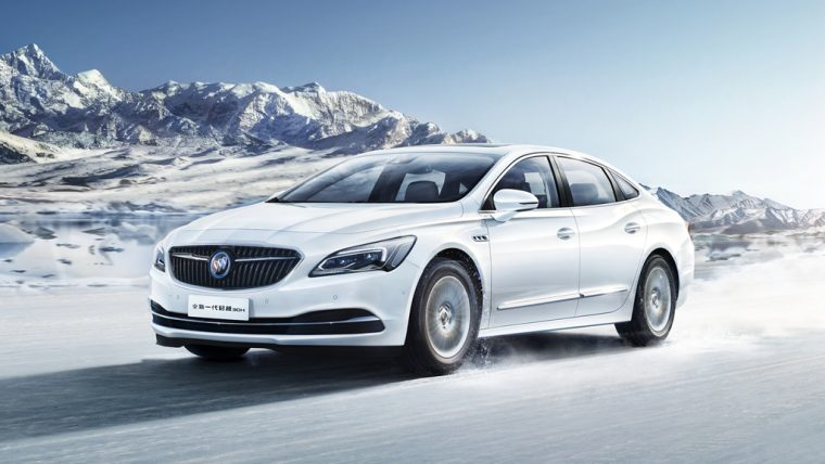 Buick LaCrosse Hybrid Electric Vehicle on sale in China