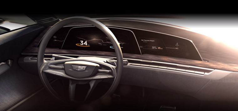 Cadillac has just released a teaser video that shows the interior of a new concept vehicle