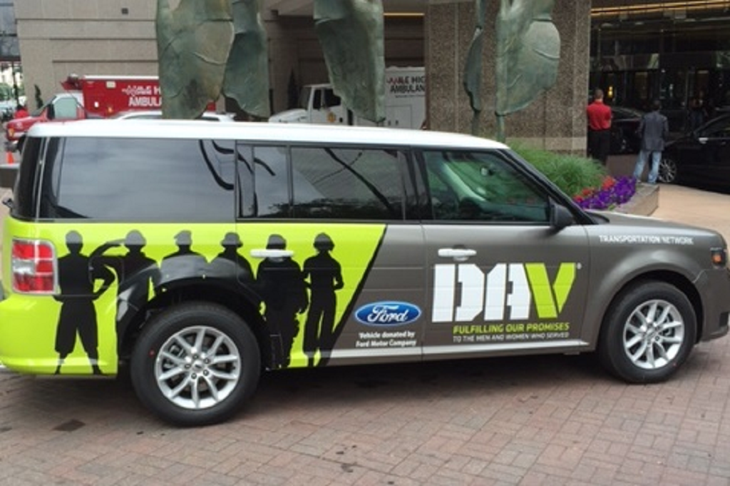 Ford Donates Eight Flex Utility Vehicles To Disabled
