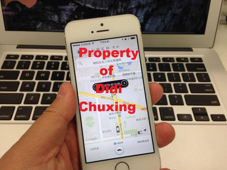 Didi Chixing buys Uber China