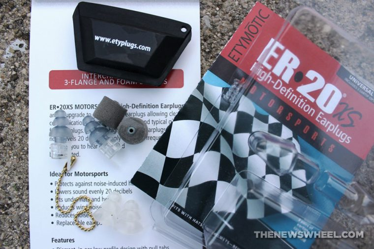 Etymotic ER•20XS Motorsports High-Definition Earplugs package