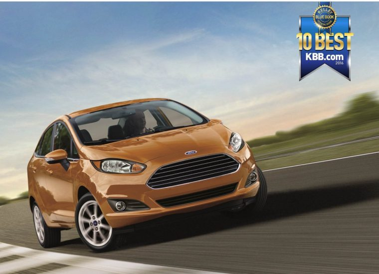 Ford Fiesta wins spot on KBB.com 10 Best Back-to-School Cars
