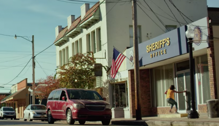 "Halle Berry and a Chrysler Town & Country minivan seem to get equal screentime in the thriller movie ""Kidnap"""