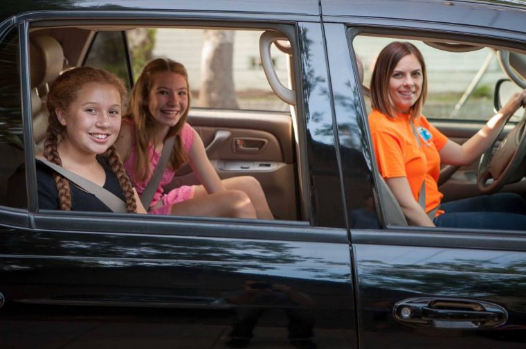 HopSkipDrive Kids Ridesharing App