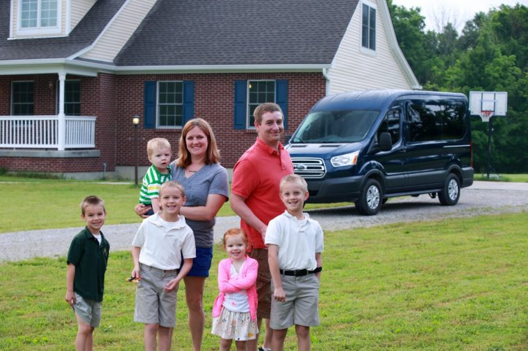 Hoyt Family Ford Transit Wagon