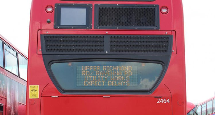 London Bus Traffic Updates