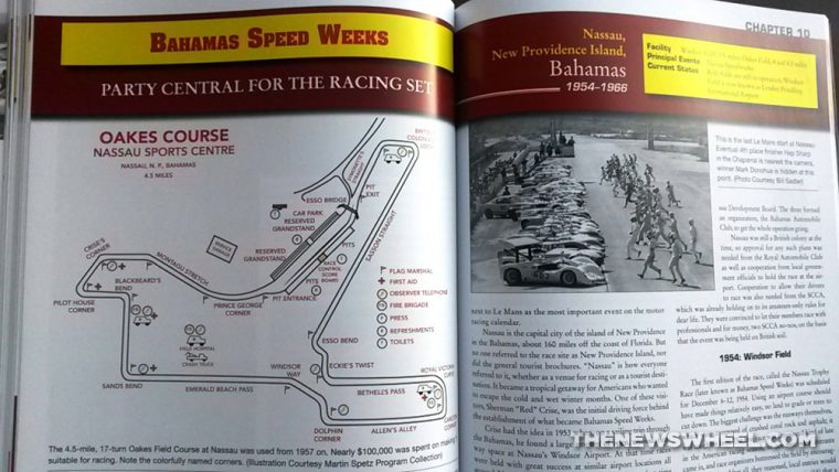 Lost Road Courses book review Martin Rudow CarTech map