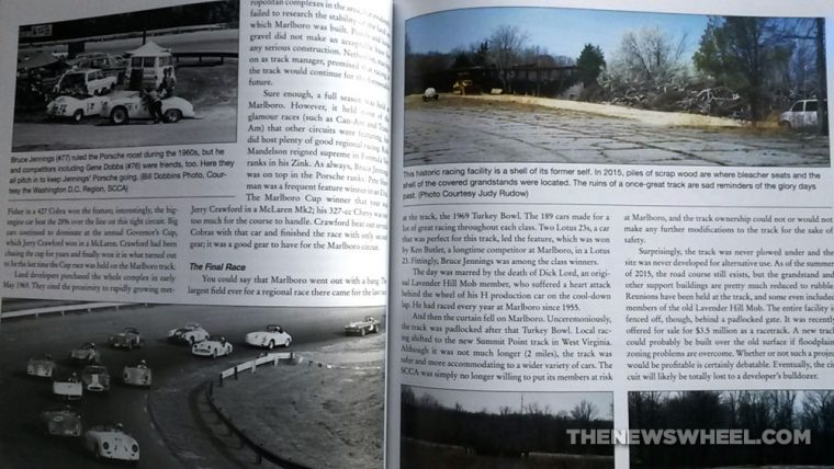Lost Road Courses book review Martin Rudow CarTech pages