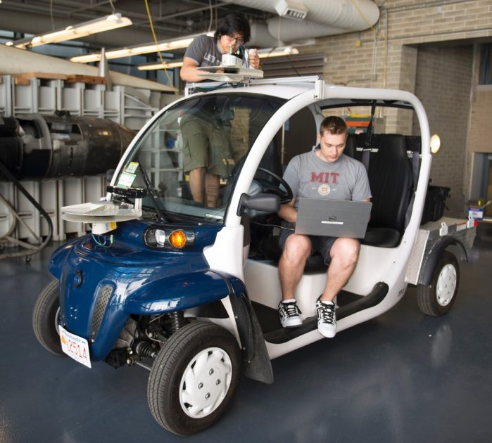 one of the three on-demand electric vehicles Ford is contributing to the MIT project
