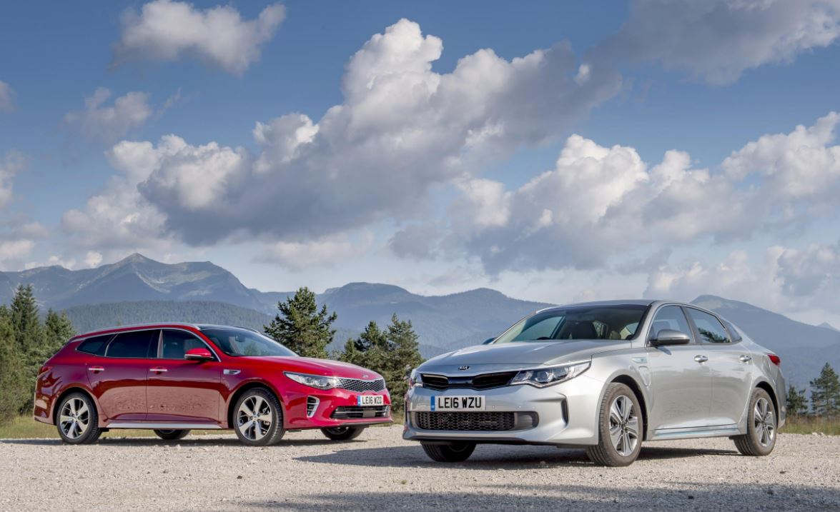 Kia Adds Optima Phev Sportswagon To Uk Lineup The News
