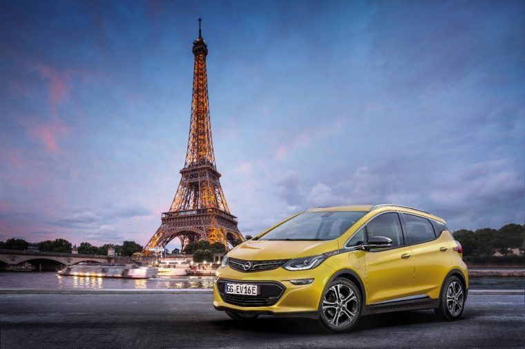 Opel Ampera-e to debut in France at Paris Motor Show