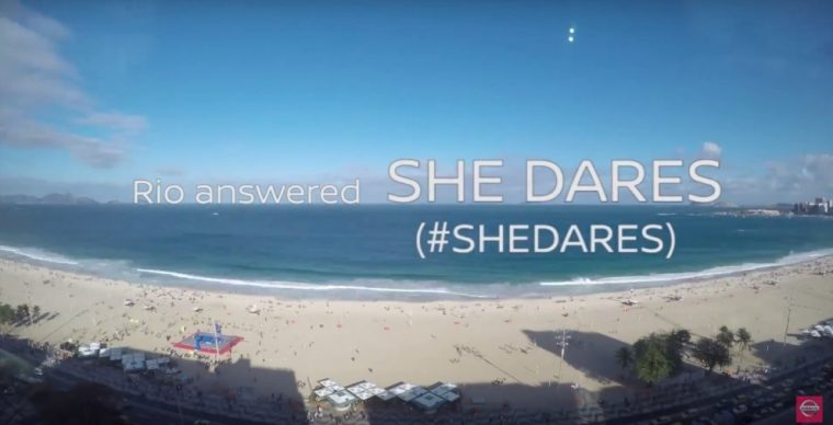 Nissan's She Dares campaign