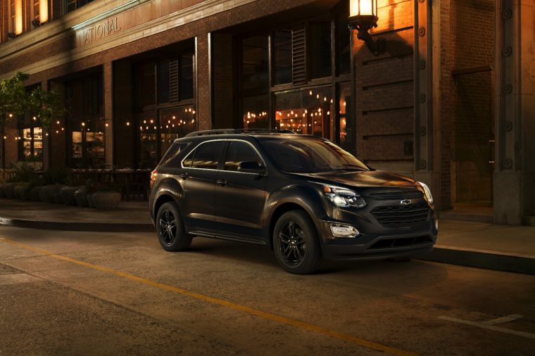 The 2017 Chevy Equinox Midnight Edition Shown And Sport Traverse